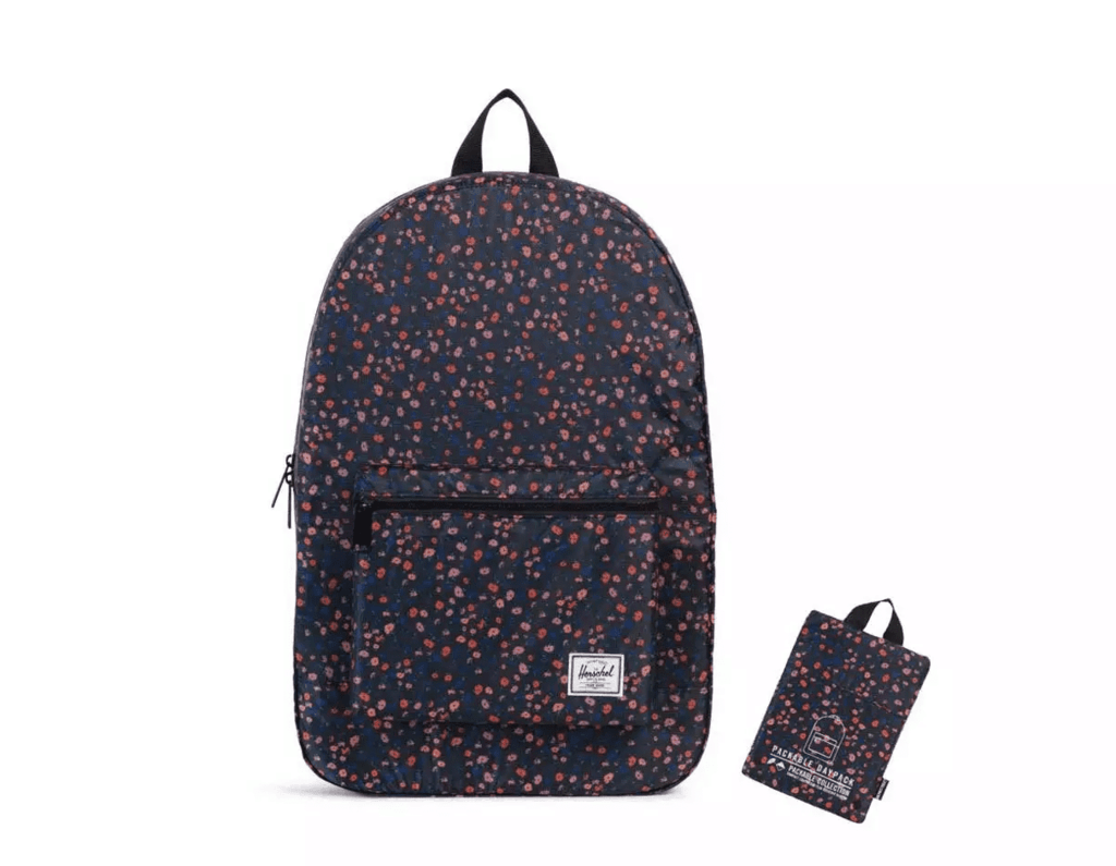 Herschel has made the perfect packable bag for those on the go. It features  adjustable straps 4e385b9c2777e