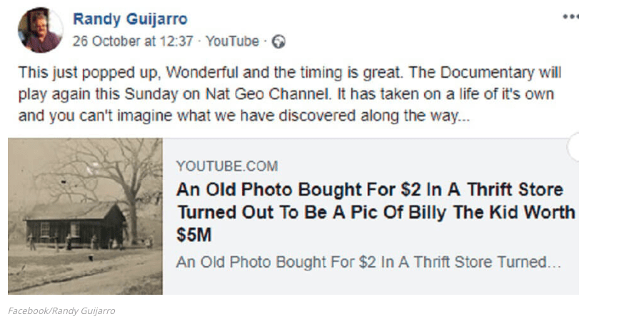 Man Buys a 2$ Photo In An Antique Shop And Is Floored When
